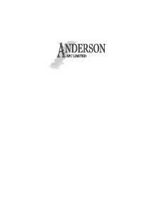 Anderson APC Ltd - Anderson APC Ltd